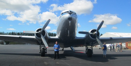 DC3 at ardmore